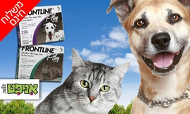 אמפולות פרונטליין לכלב ולחתול