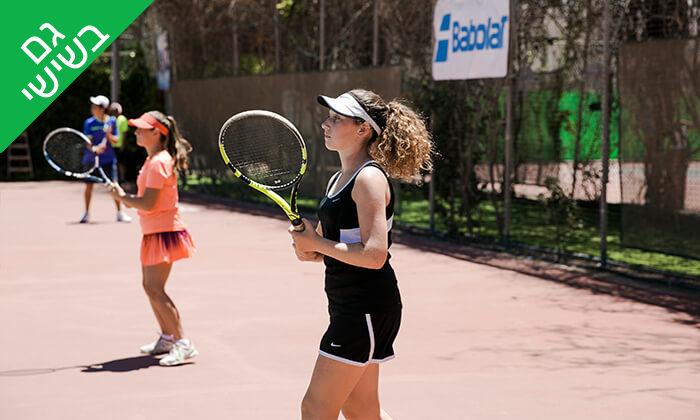 2 השכרת מגרש ושיעורי טניס בגולדן טניס, נתניה