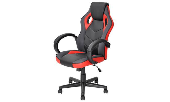 3 כיסא גיימרים Homax כולל גלגלי סיליקון