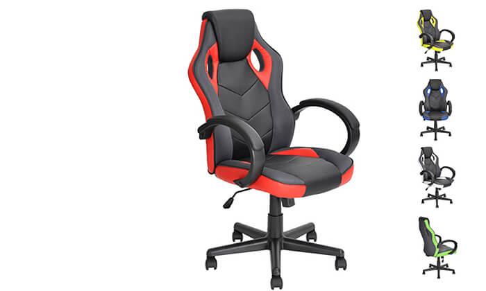2 כיסא גיימרים Homax כולל גלגלי סיליקון