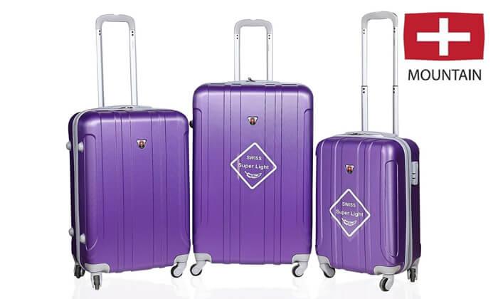 2 מזוודות SWISS קשיחות