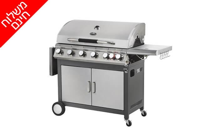 3 גריל גז 6 מבערים Australia Chef כולל גריל מורכב ומשלוח חינם