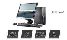 מחשב נייח HP כולל מסך