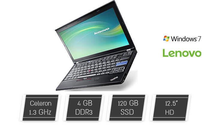 """2 מחשב נייד """"Lenovo 12.5 - משלוח חינם!"""