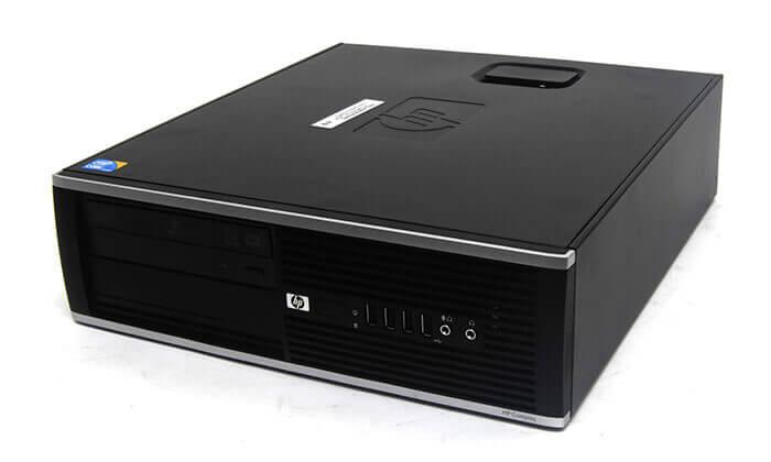 3 מחשב נייח hp כולל מסך, מקלדת ועכבר מתנה