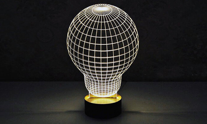 2 מנורת הולוגרמה