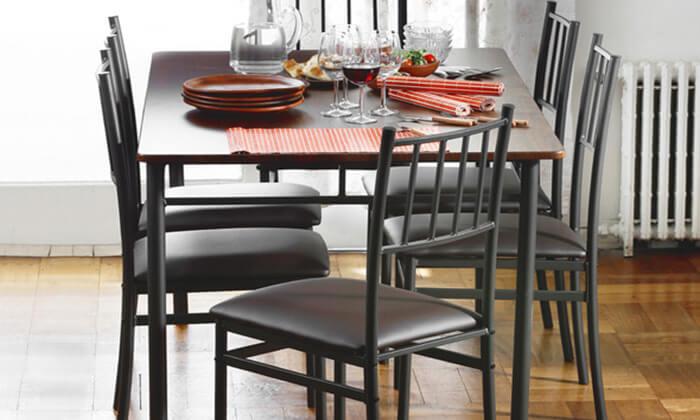 פנטסטי פינת אוכל עם 6 כיסאות | גרו (גרופון) GN-09