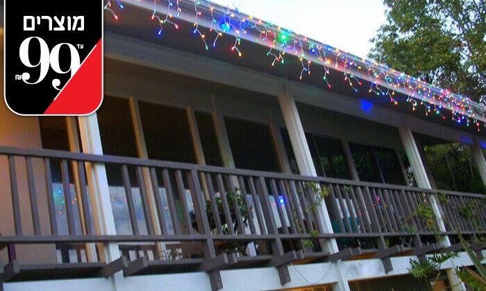6 שרשרת נורות LED סולאריות