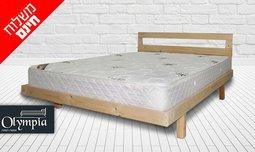 בסיס מיטה ומזרן זוגי