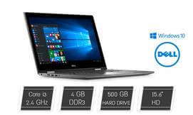 נייד Dell מסך מגע מתהפך ''15.6