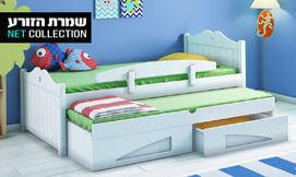 מיטת ילדים גדולה דגם כוכב