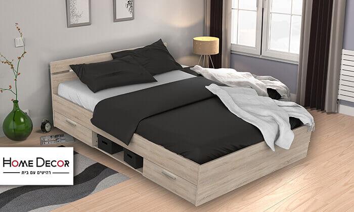 2 מיטה זוגית עם מגירות מבית HOME DECOR