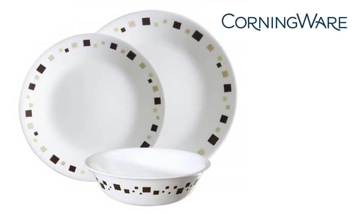 2 סט צלחות CORELLE® קורנינג