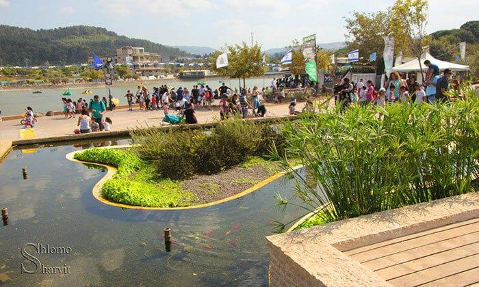 6 יום כיף באגם מונפורט כולל פארק אקסטרים!