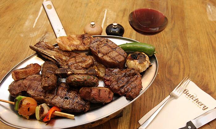 2 ארוחת בשר זוגית בבוצ'רי - אחוזת בשר כשרה בבאר שבע