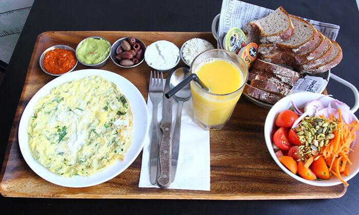 3 ארוחת בוקר זוגית ב'שעון' הכשרה, אשדוד