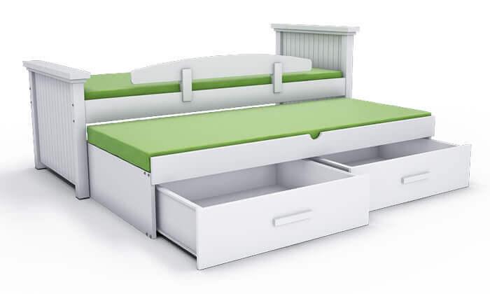 3 שמרת הזורע: מיטת ילדים מעוצבת ב-2 מידות לבחירה