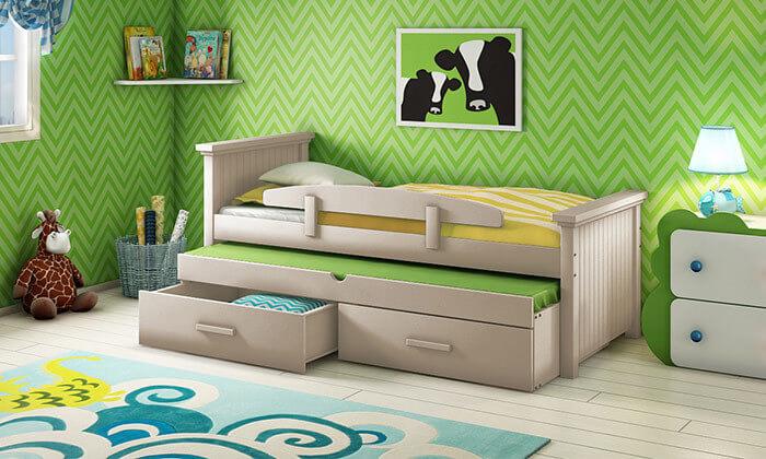 8 שמרת הזורע: מיטת ילדים מעוצבת ב-2 מידות לבחירה