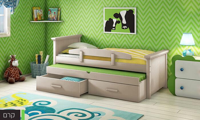 7 שמרת הזורע: מיטת ילדים מעוצבת ב-2 מידות לבחירה