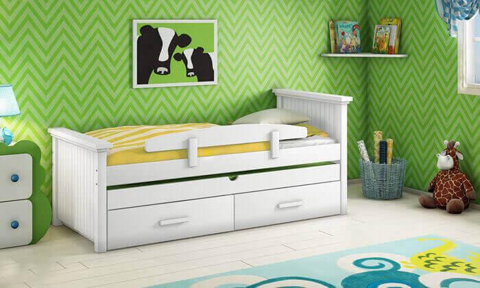 9 שמרת הזורע: מיטת ילדים מעוצבת ב-2 מידות לבחירה