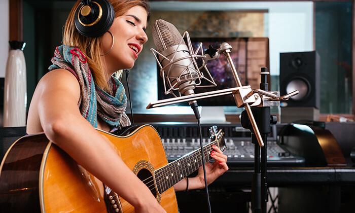 3 פיתוח קול, שיעור גיטרה או קלידים - יעלה מוסיקה, ראשון לציון