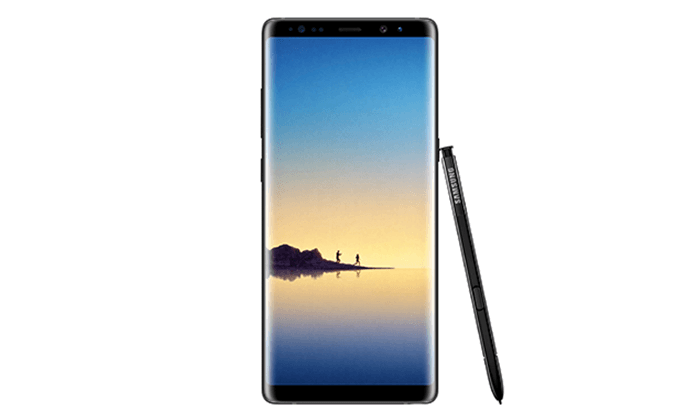 2 סמארטפון Samsung Galaxy Note 8