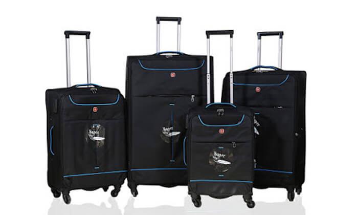 2 מזוודות SWISS בגדלים שונים