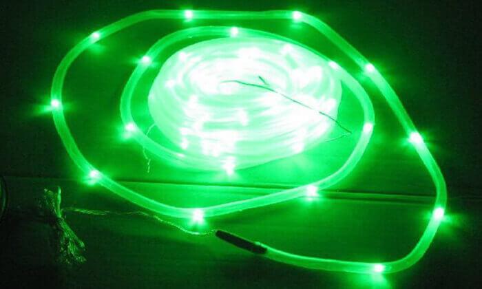 7 שרשרת נורות LED סולארית