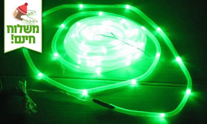 7 שרשרת נורות LED סולארית - משלוח חינם