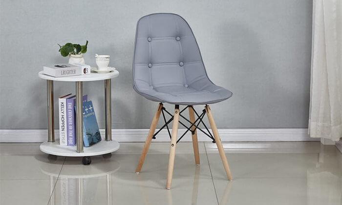 3 כיסא מרופד לפינת אוכל