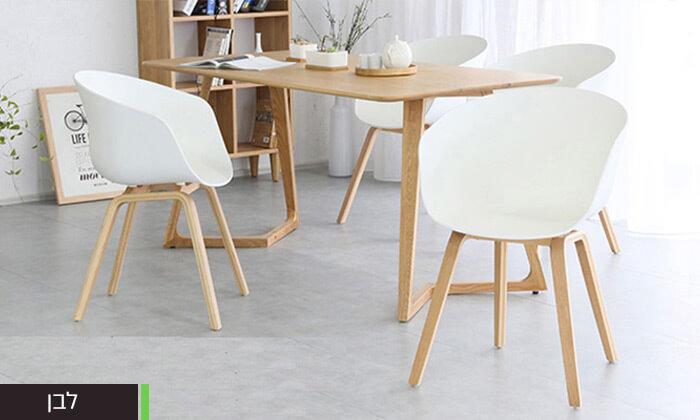 5 כסא בעיצוב מעוגל