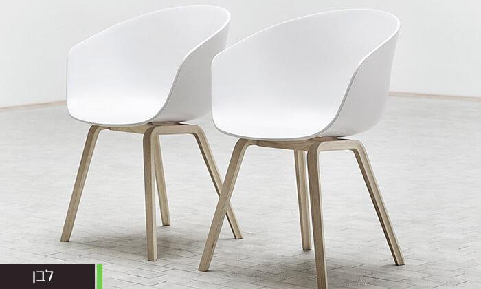 6 כסא בעיצוב מעוגל