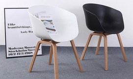 כסא בעיצוב מעוגל