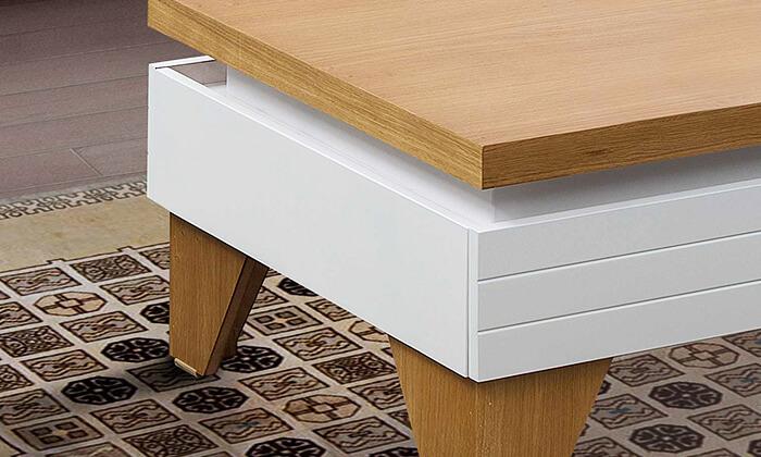 4 סט מזנון ושולחן לסלון LEONARDO