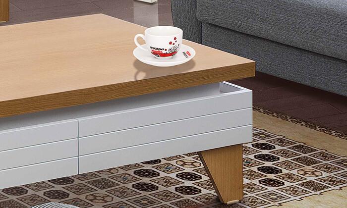 6 סט מזנון ושולחן לסלון LEONARDO