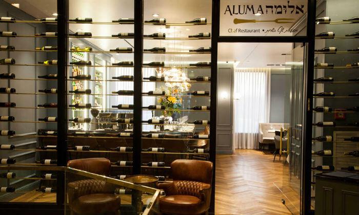 8 ארוחת דגים זוגית במסעדת 'אלומה', מלון קראון פלאזה י-ם
