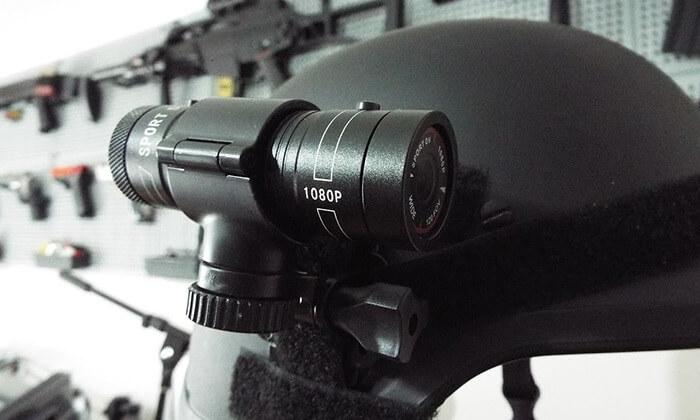 5 מצלמת דרך FHD 1080P לקסדה