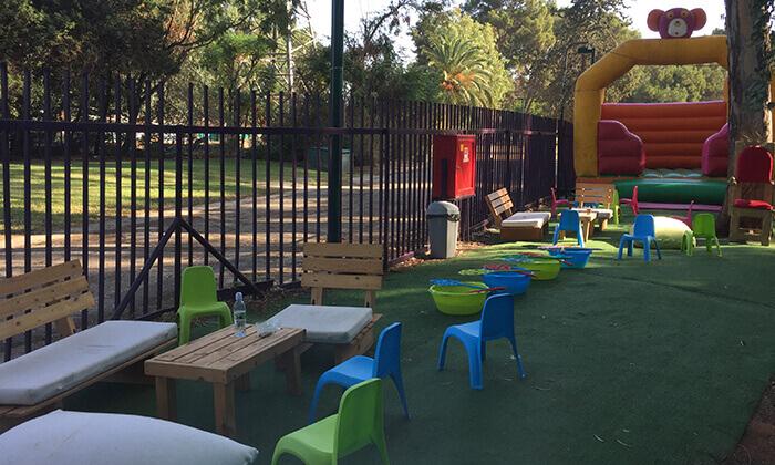 """9 פארק גני יהושע ת""""א - כרטיס להצגת ילדים בתיאטרון הפארק וכניסה למתחם האטרקציות"""