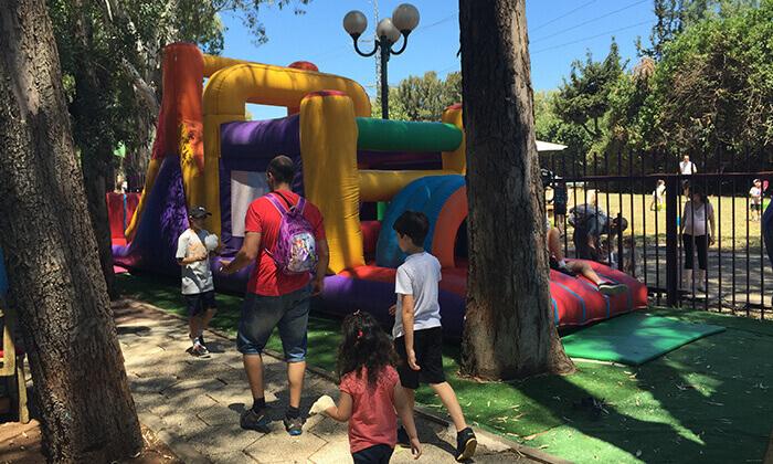 """7 פארק גני יהושע ת""""א - כרטיס להצגת ילדים בתיאטרון הפארק וכניסה למתחם האטרקציות"""