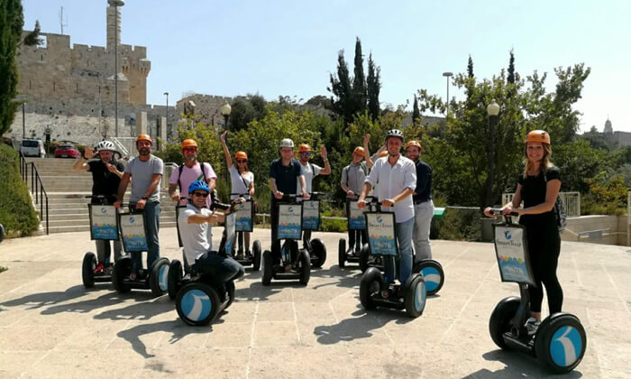 3 SMART TOUR - סיור סגווילילי בירושלים