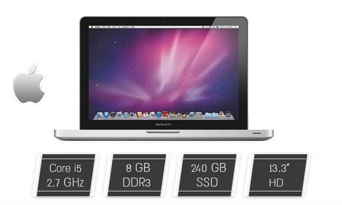 """4 מחשב נייד """"13.3 Apple MacBook Pro  - משלוח חינם!"""