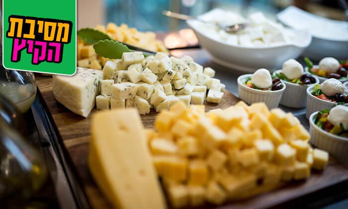 3 ארוחת בוקר עשירה ומגוונת במלון רימונים טאואר רמת גן