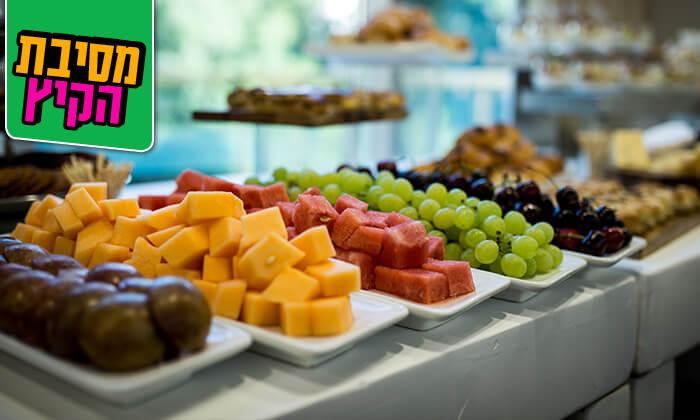 4 ארוחת בוקר עשירה ומגוונת במלון רימונים טאואר רמת גן