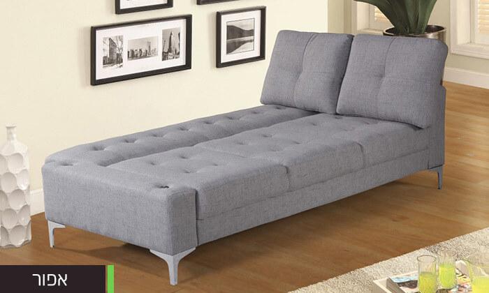 7  ספה תלת מושבית נפתחת למיטה LEONARDO