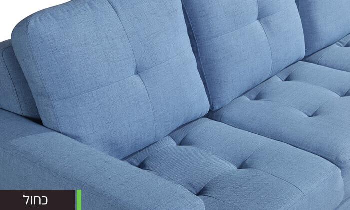 10  ספה תלת מושבית נפתחת למיטה LEONARDO