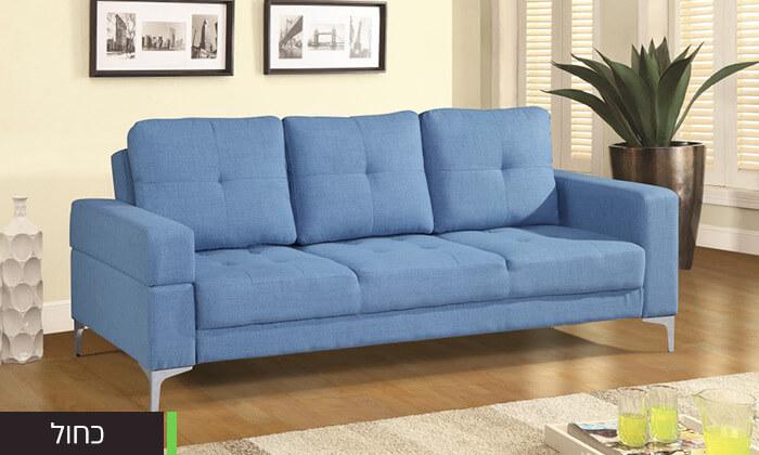 11  ספה תלת מושבית נפתחת למיטה LEONARDO
