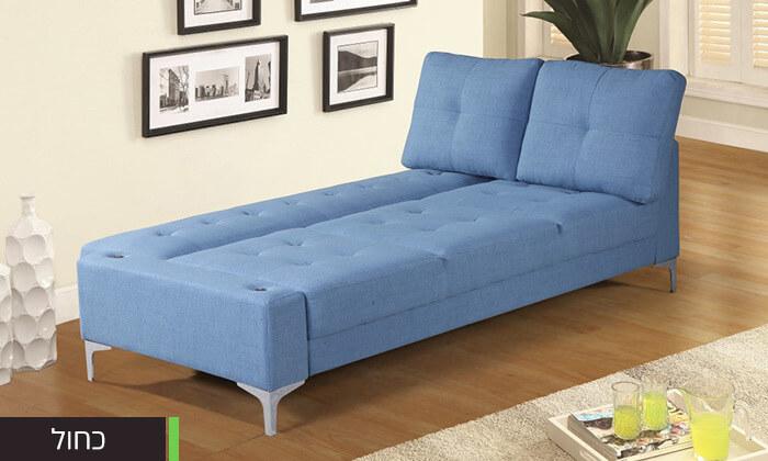 12  ספה תלת מושבית נפתחת למיטה LEONARDO