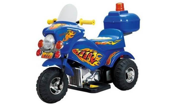 2 אופנוע משטרה לילדים