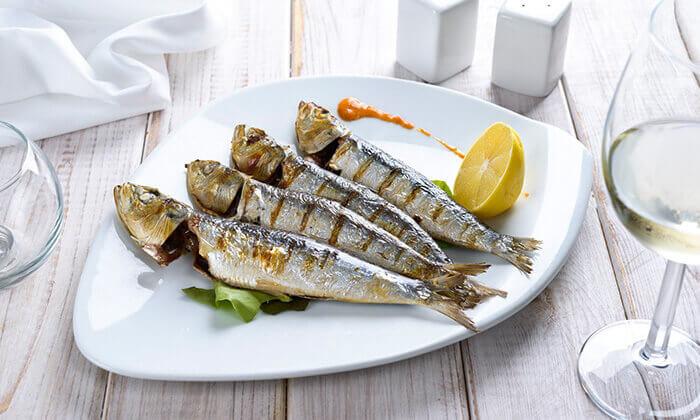 9 ארוחה זוגית בלה סרדין, מסעדת דגים במרינה אילת