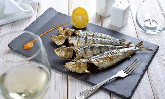 10 ארוחה זוגית בלה סרדין, מסעדת דגים במרינה אילת